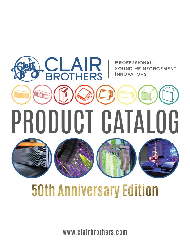 50thAnnClairBrothers ProductCatalog COVER